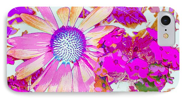 Lavender Echinacea IPhone Case by Annie Zeno
