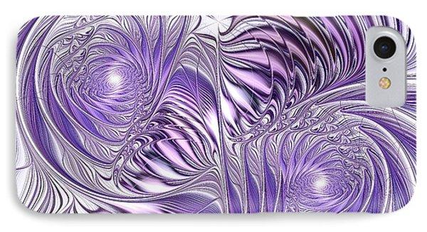 Lavender Elegance Phone Case by Anastasiya Malakhova