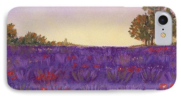 Lavender Evening Phone Case by Anastasiya Malakhova