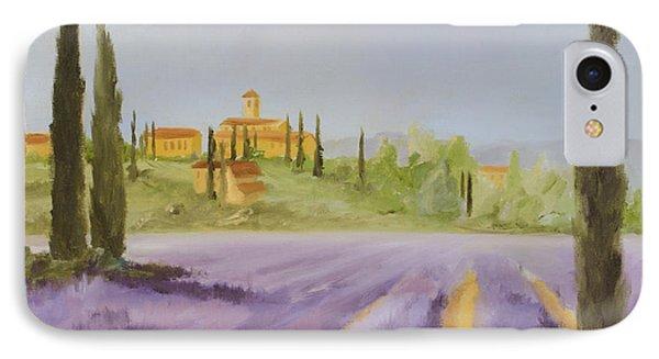 Lavender Fields I Phone Case by Logan Gerlock