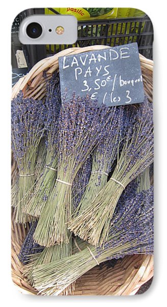 Lavender For Sale Phone Case by Pema Hou