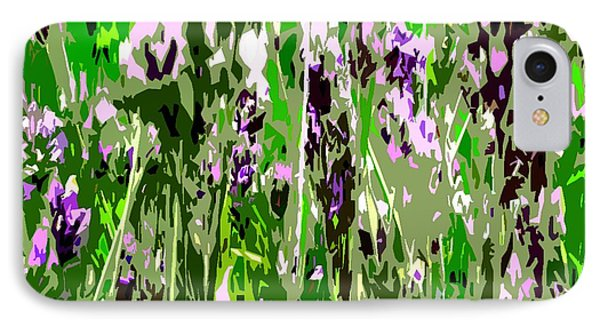 Lavender In Summer Phone Case by Patrick J Murphy