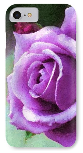 Lavender Lady IPhone Case by RC deWinter