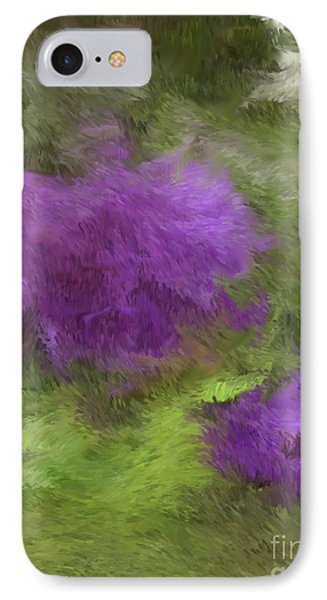 IPhone Case featuring the digital art Monet Meadow by The Art of Alice Terrill