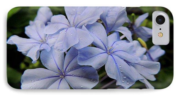 Lavender Raindrops Phone Case by Kristine Merc