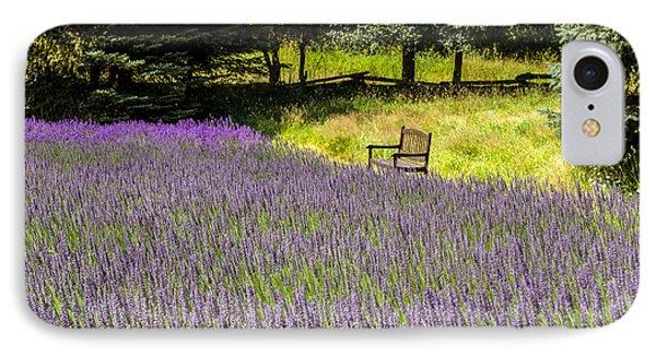 Lavender Rest IPhone Case by Kathy Bassett