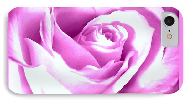 IPhone Case featuring the photograph Lavender Rose  by Janine Riley