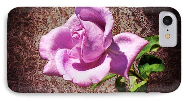 Lavender Rose Phone Case by Mariola Bitner