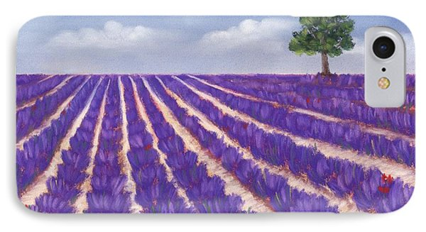 Lavender Season IPhone Case by Anastasiya Malakhova