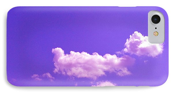 Lavender Skies IPhone Case by M West