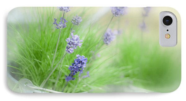 Lavender Sprigs IPhone Case by Amanda Elwell