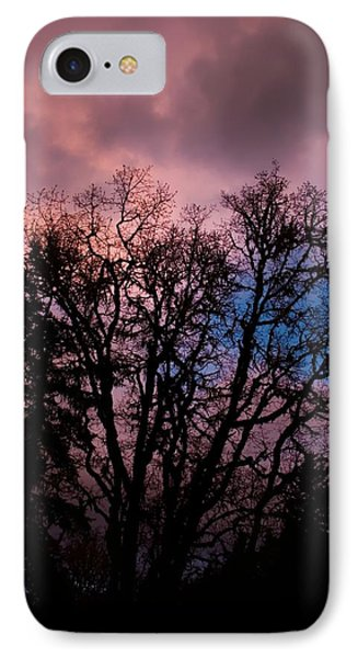 Lavender Storm IPhone Case by Tyra  OBryant