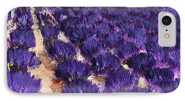 Lavender Study - Marignac-en-diois IPhone Case by Anastasiya Malakhova