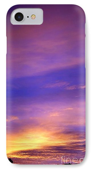 IPhone Case featuring the photograph Lavender Sunrise by Sue Halstenberg