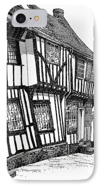 Lavenham Timber Phone Case by Shirley Miller