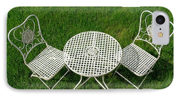 Lawn Furniture Phone Case by Olivier Le Queinec