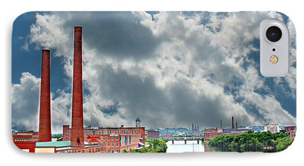 Lawrence Ma Skyline IPhone Case by Barbara S Nickerson