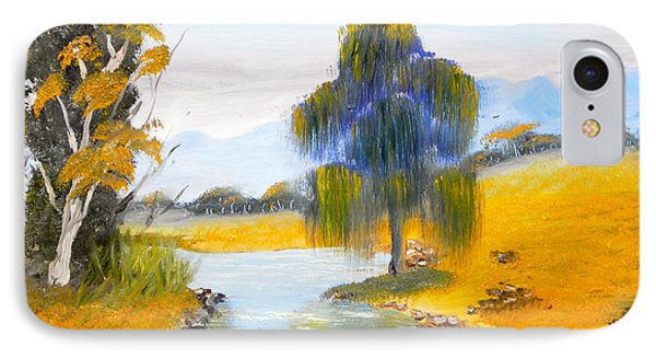 IPhone Case featuring the painting Lawson River by Pamela  Meredith
