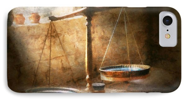 Lawyer - Scale - Balanced Law Phone Case by Mike Savad