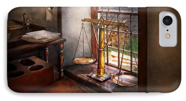 Lawyer - Scales Of Justice IPhone Case by Mike Savad