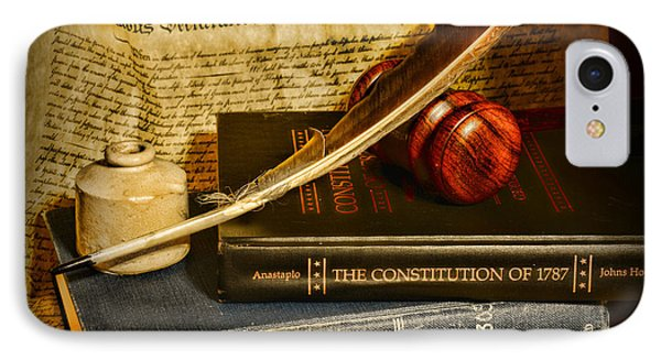 Lawyer - The Constitutional Lawyer IPhone Case by Paul Ward