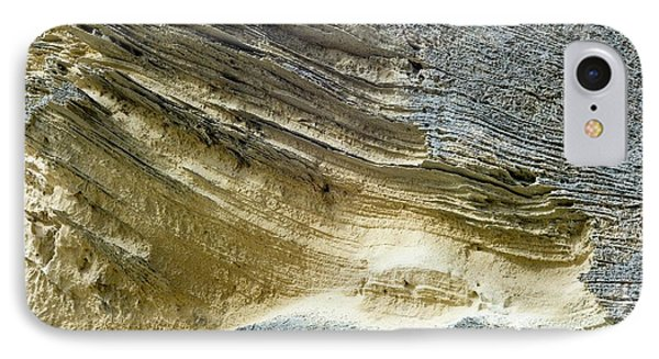 Layered Calcareous Sandstone IPhone Case