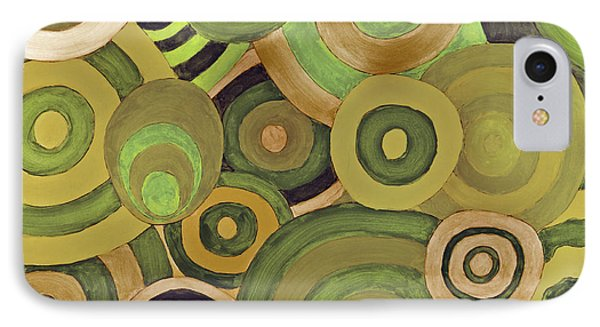 Layered Rings IPhone Case by Kjirsten Collier