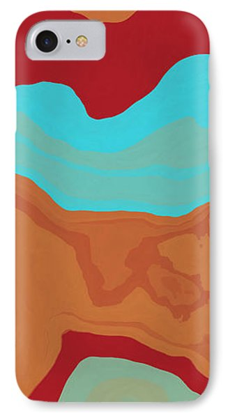 Layers And Form 2 Phone Case by David G Paul