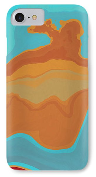 Layers And Form Phone Case by David G Paul