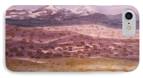 Layers Of Landscape IPhone Case by Suzanne McKay