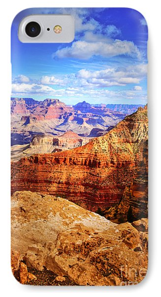 Layers Of The Canyon IPhone Case by Tara Turner