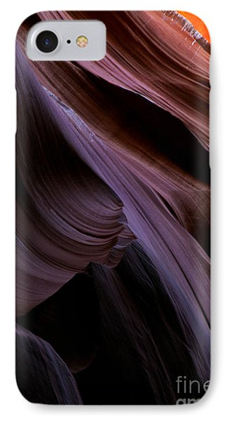 Layers Of The Desert IPhone Case by Mike  Dawson
