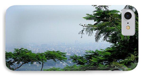 Layers Of Tree IPhone Case by Kiran Joshi
