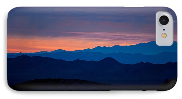Layers - The Mojave IIi IPhone Case by Peter Tellone