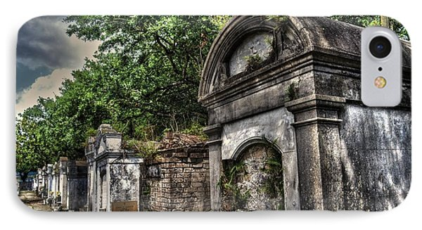 Layfayette Cemetery New Orleans IPhone Case by Timothy Lowry