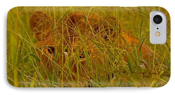 IPhone Case featuring the photograph Laying In The Grass by J L Woody Wooden
