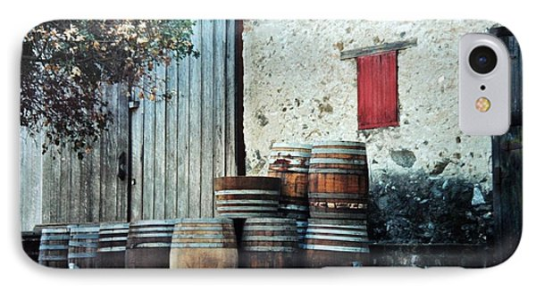 IPhone Case featuring the photograph Lazy Afternoon At The Winery by Diane Alexander