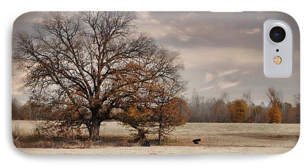 Lazy Autumn Day - Farm Landscape IPhone Case