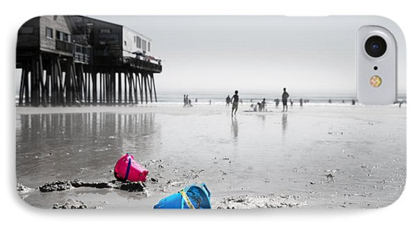 Lazy Days Of Summer IPhone Case by Jane Rix