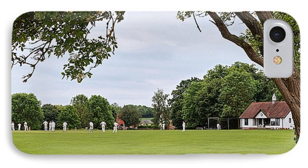Lazy Sunday Afternoon - Cricket On The Village Green IPhone Case