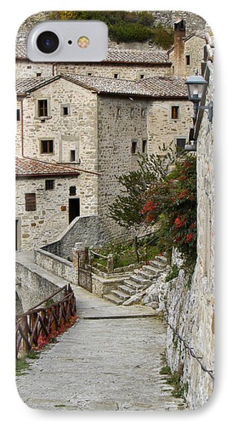 Le Celle Outside Cortona Italy IPhone Case by Sally Ross