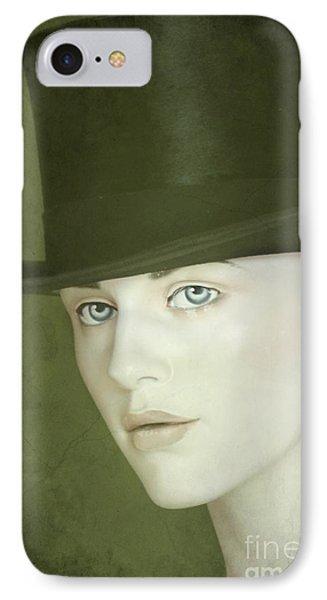 Le Chapeau Phone Case by Sophie Vigneault