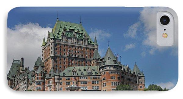 Le Chateau Frontenac  -- Quebec City IPhone Case