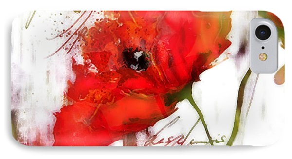 Le Coquelicot ... IPhone Case by Selke Boris