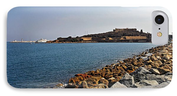 Le Fort Carre - Antibes - France Phone Case by Christine Till