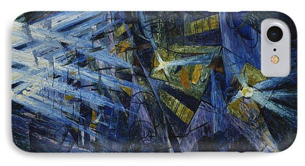 Le Forze Di Una Strada Phone Case by Umberto Boccioni