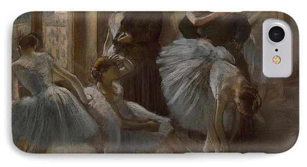 Le Foyer De L'opera IPhone Case by Edgar Degas