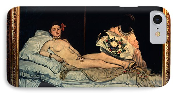Le Grande Odalisque By Ingre Phone Case by Carl Purcell