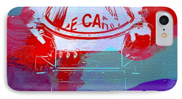 Le Mans Racer During Pit Stop IPhone Case by Naxart Studio