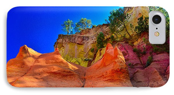 Le Sentier Des Ocres Roussillon France Phone Case by Jeff Black
